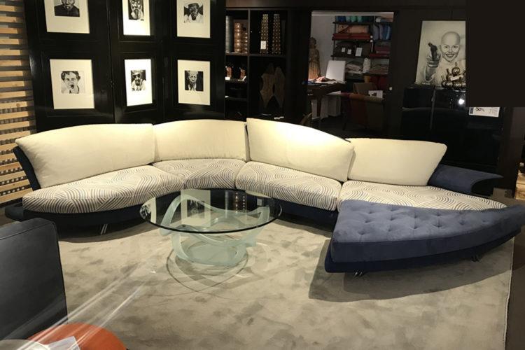 Composizione divano con pouf SUPER ROY - SR91