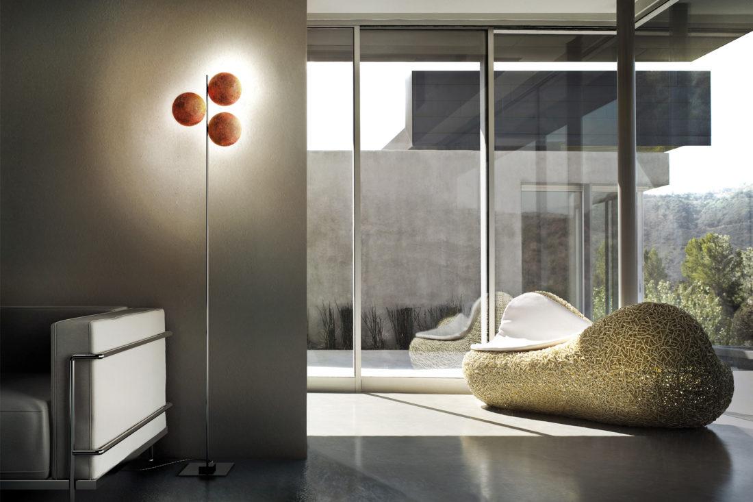 floor lamp mod. LEDERAM