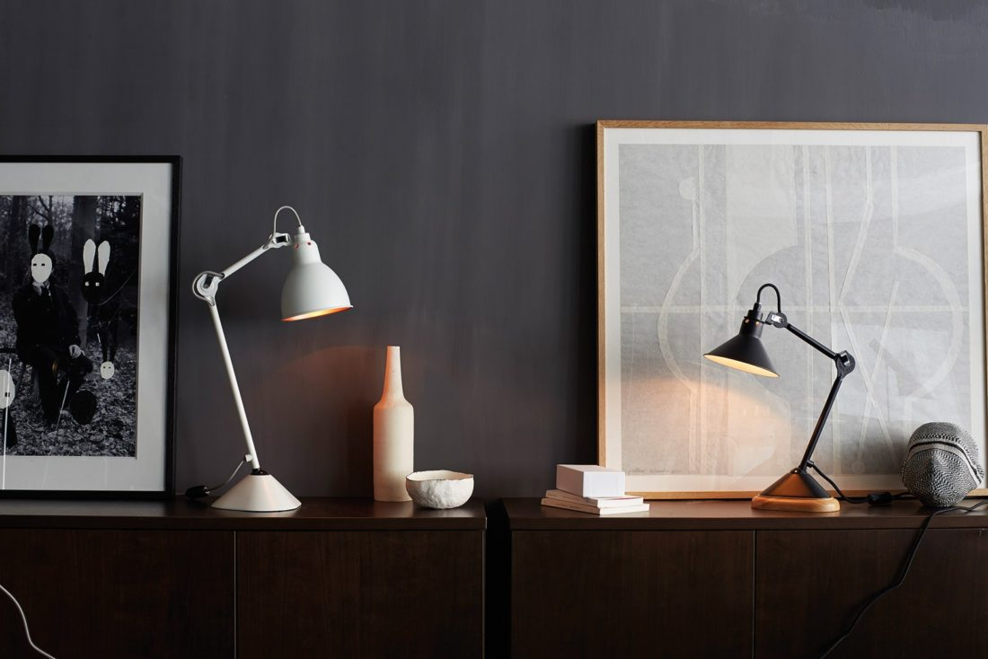 table lamp mod. LAMPE GRAS 207