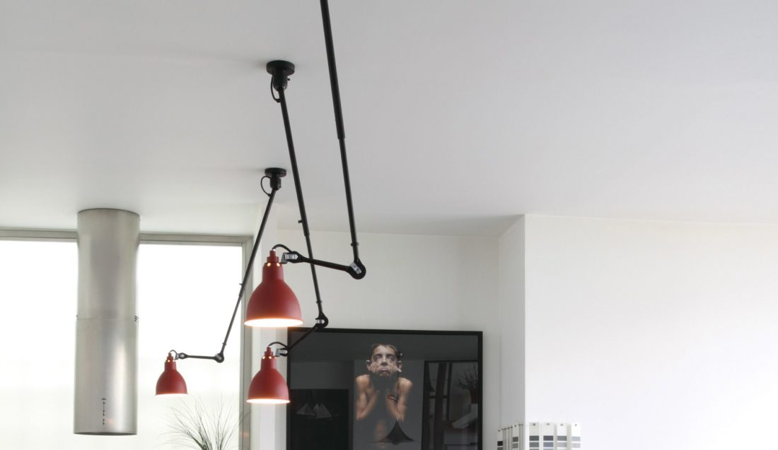 Lampe mod. LAMPE GRAS 302 L