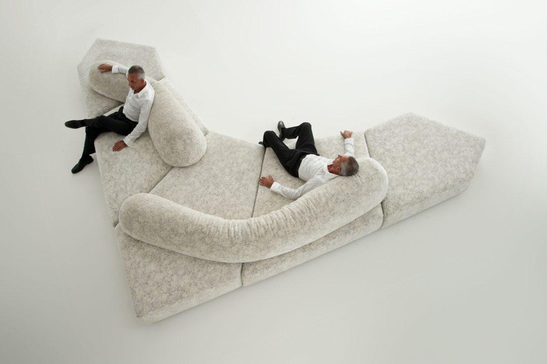 Sofa mod. ON THE ROCKS