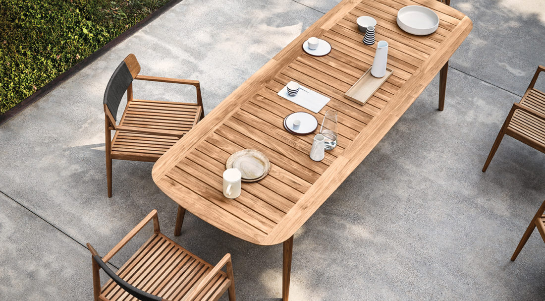 table + chairs mod. ARCHI
