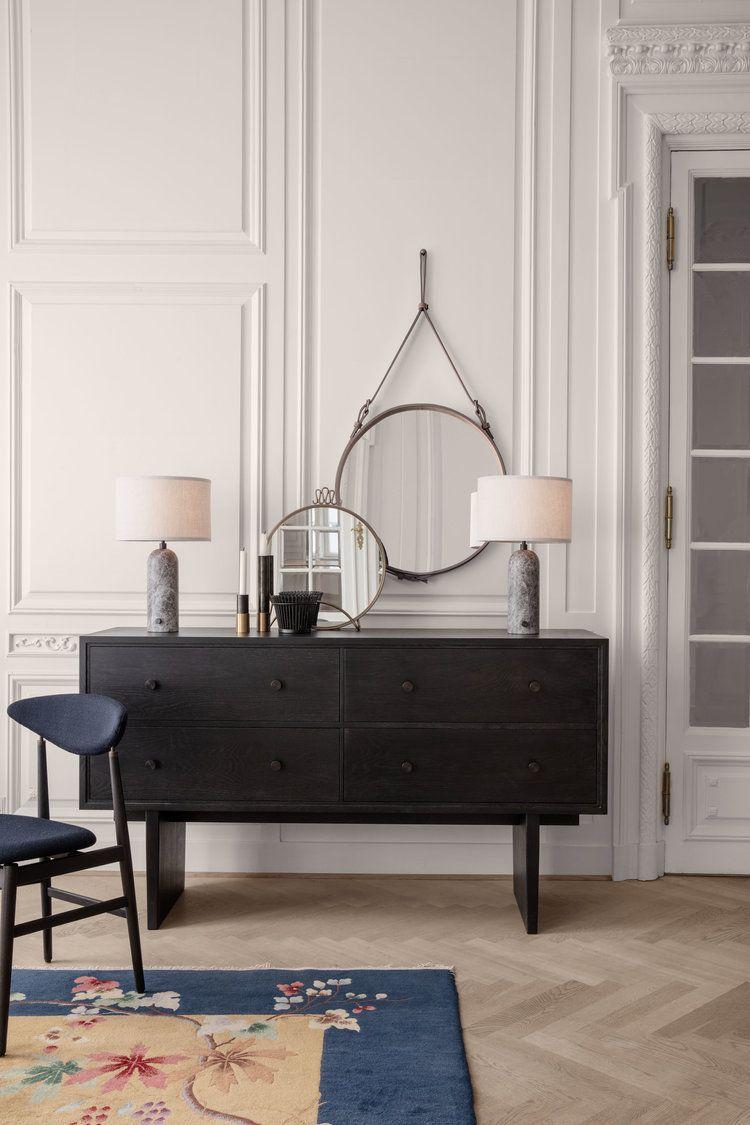 Specchio mod. ADNET + lampade mod. GRAVITY