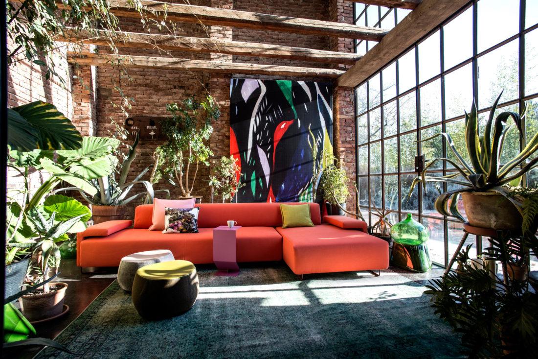 Sofa mod. LOWLAND