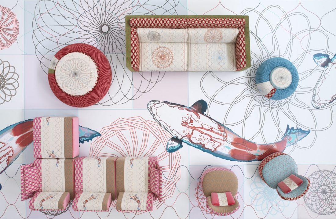 Sofa mod. SUSHI