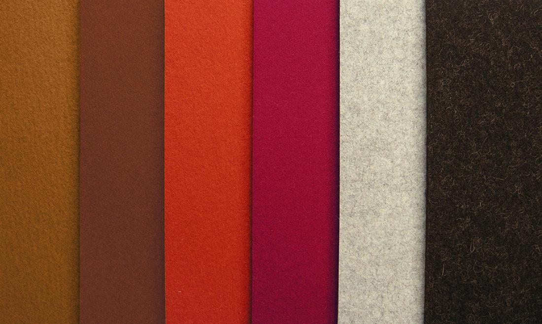 Varianti di colore per tappeto mod. FELTRO