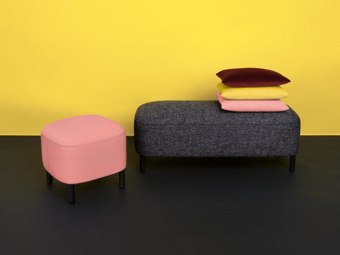 bench +pouf mod. AMI
