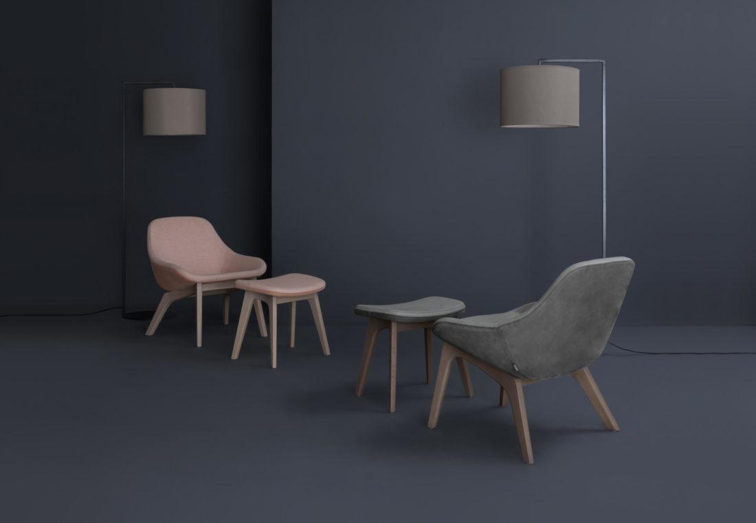 armchairs mod. MORPH LOUNGE