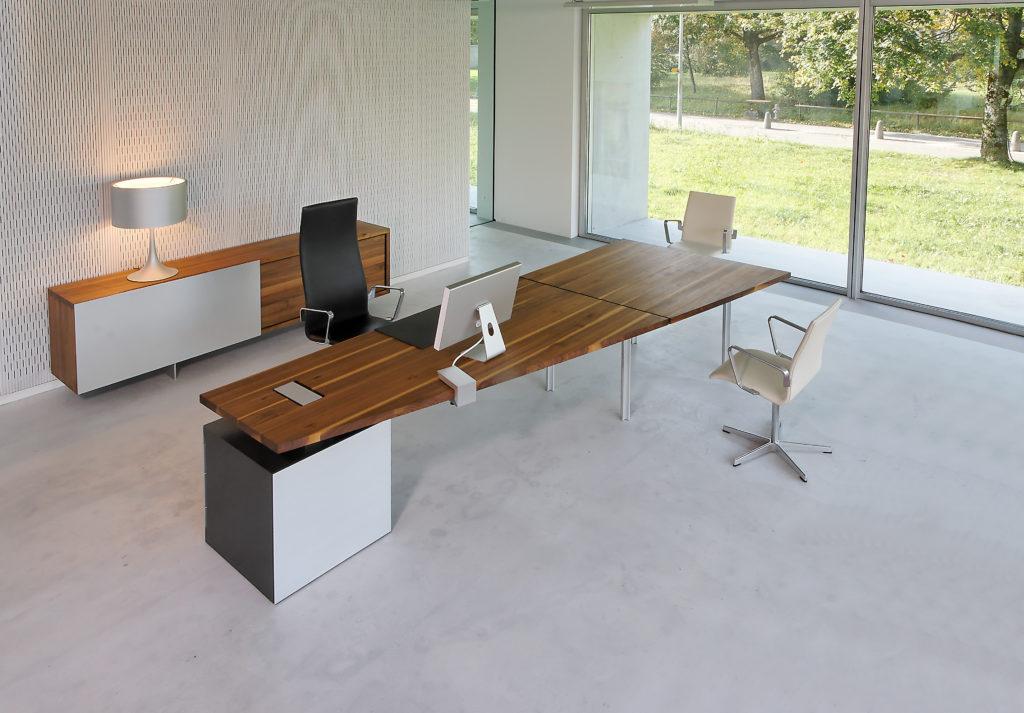 Schreibtisch + Möbel mod. TIX OFFICE