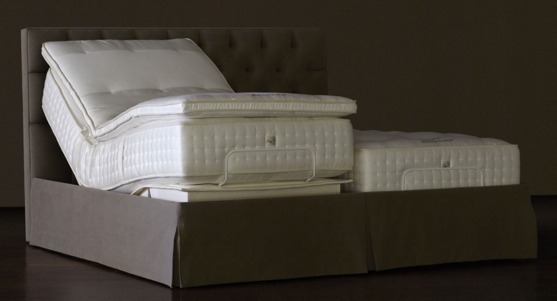 bed bases and toppers: to complete the sleeping system it is also necessary to evaluate the base that supports the mattress to have a synergistic action. The base can be with wooden slats or metal springs (sommier) and also  can have the option of adjusting the position (manually or electrically). The topper can complete the system by giving a greater feeling of coziness during sleep.