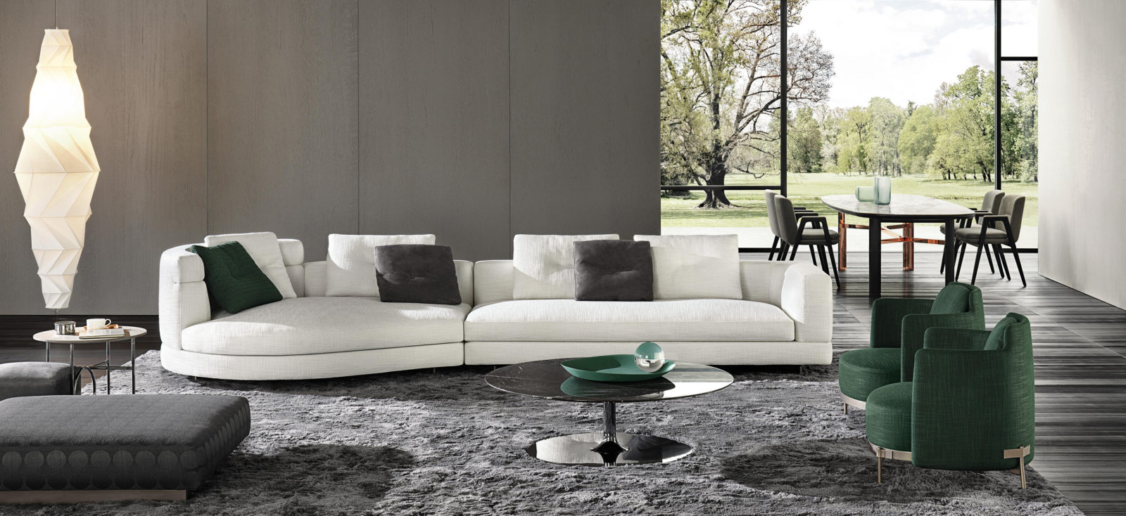 Minotti: top quality furniture made in Italy